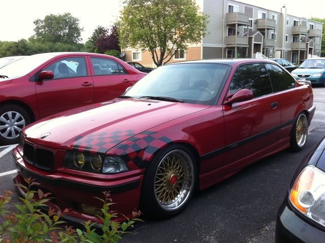 Fs Imola Red E36 325is W Tons Of M3 Parts