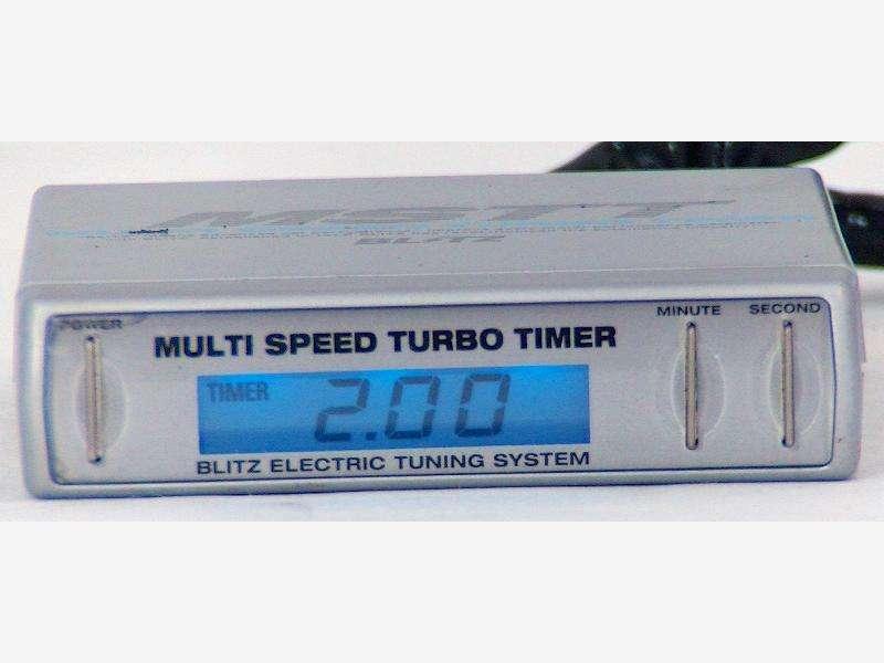 BLITZ MSTT Multi speed turbo timer / digital KMH meter R33 S13