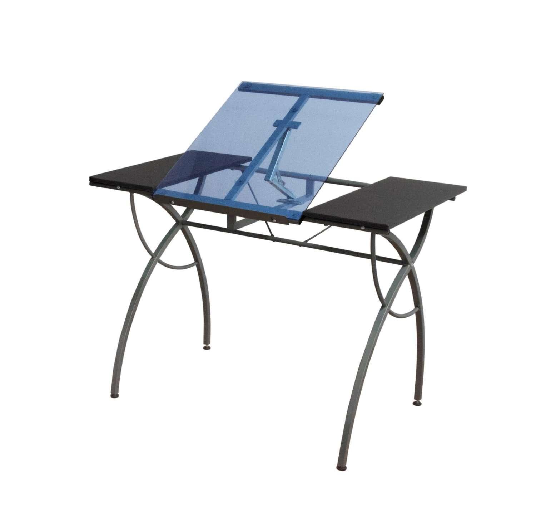 mesa para dibujo cristal escritorio dibujar ajustable vbf en mercado libre