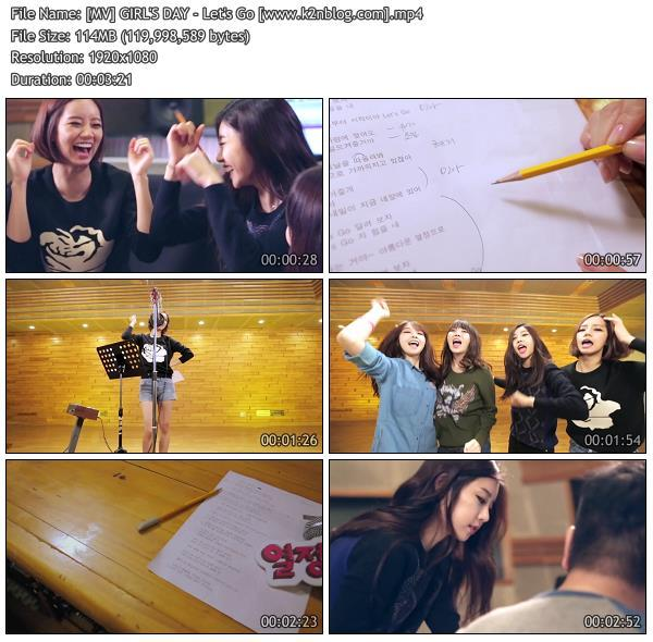 [MV] GIRL'S DAY - Let's Go [HD 1080p Youtube]
