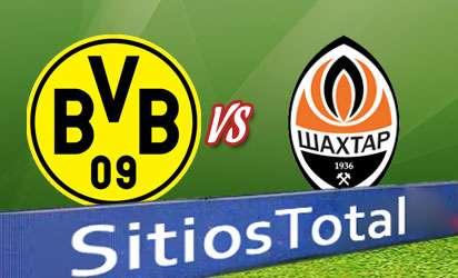 Borussia Dortmund vs Shakhtar Donetsk en Vivo